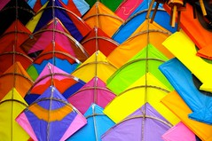 The Raipur Kite Bazaar (Saumil U. Shah) Tags: wallpaper india festival colours kites getty string gettyimages gujarat ahmedabad uttarayan sankranti shah patang  saumil raipur firki incredibleindia uttran uttaran    saumilshah