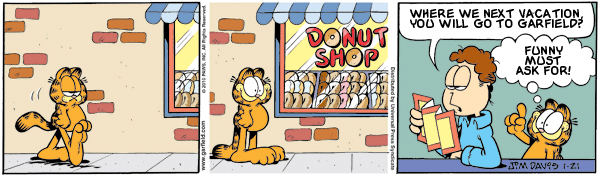 Garfield: Lost in Translation, January 21, 2010