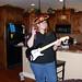 Bonnie on bass.