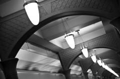 Into The Future (michaeljosh) Tags: blackandwhite hallway rockwell project365 brianmcknight intothefuture tamron1750mmf28 powerplantmall backatone nikond90 michaeljosh