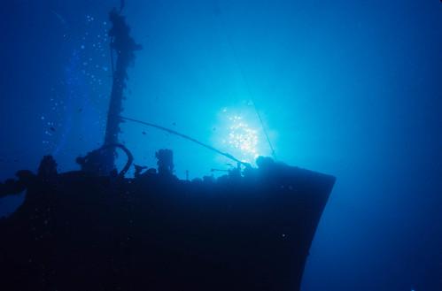 Wreck Dive - PNG