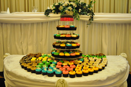 Twelves Cupcake Tower