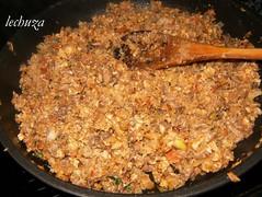 Lasaña de grelos-añadir tomate +