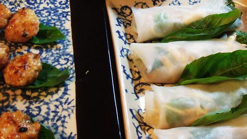 SE Asian platters