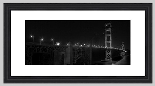 Lonely Bridge - Golden Gate Print