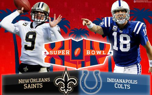 Super Bowl XLIV Wallpaper