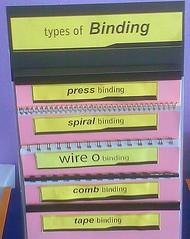 Binding: proposal binder types