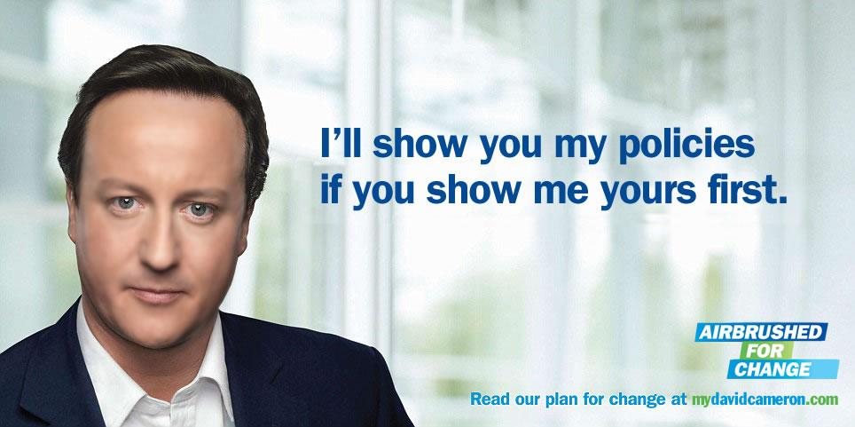 David Cameron - I'll Show you My Policies