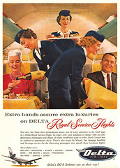 ... extra hands (x-ray delta one) Tags: illustration vintage magazine ads advertising airport aircraft ad 1950s concorde americana boeing 707 airlines americanairlines dc3 populuxe panam sst 747 jumbojet coldwar aerospace worldoftomorrow jetage deltaairlines dc4 magazineillustration airlinesadvertising