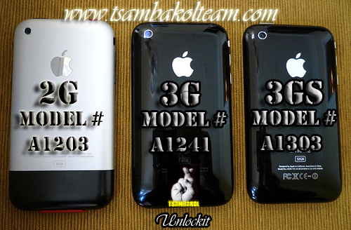 Easily unlock iphone 3g