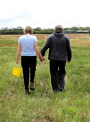 Jaqui & John Walking Home (maroochymax) Tags: family