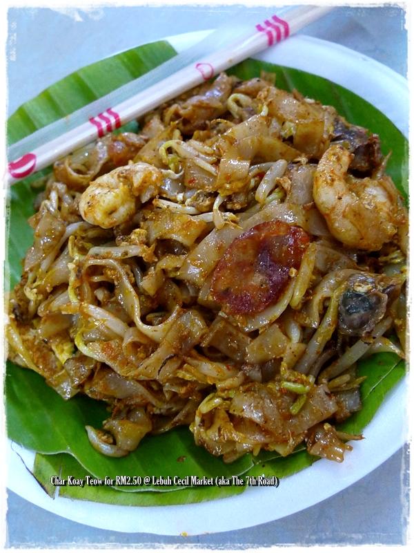 Penang Char Koay Teow @ Lebuh Cecil Market