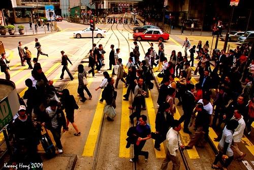 香港中环:你要去哪里?
