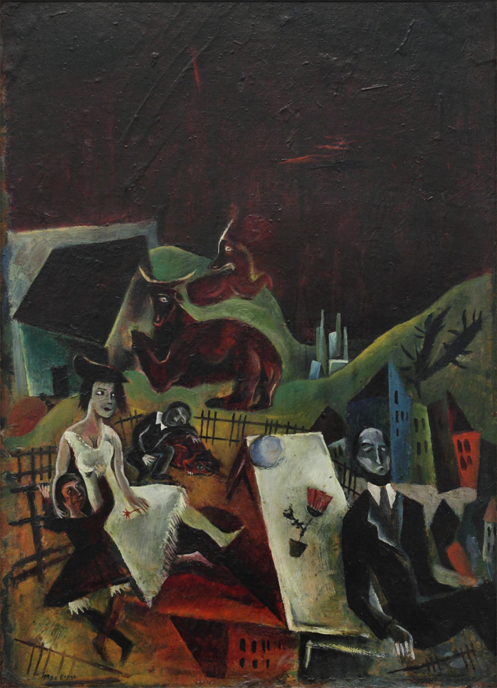 Max Ernst, A Family Trip, 1919