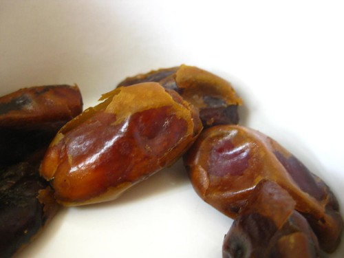 Iranian dates from the health food shop