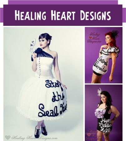 Vegan Shop Feature: Hearling Heart Designs