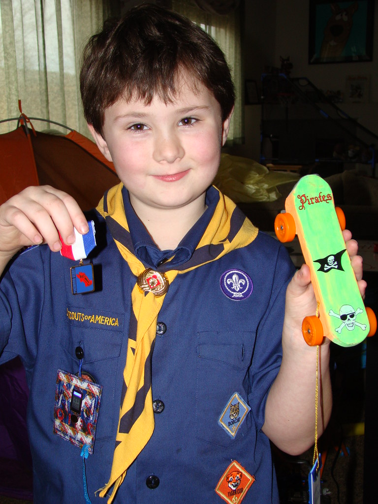 Pinewood Derby 3rd pace!