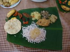 dsc03794 (MoNOloGuE0) Tags: cuisine kerala banana onam buttermilk pappadam achar payasam sadya avial onasadya