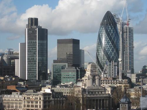 City from Tower Bridge