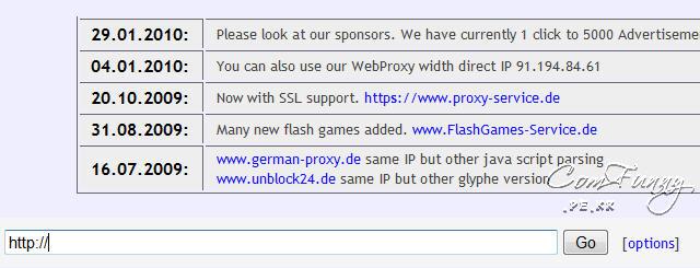 독일 프락시 사이트 이용하기