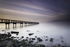 The Color Of No Direction (maxxsmart) Tags: california longexposure shadow bw color fog clouds bay pier rocks lee bayarea lowtide sanfrancsico candlestick clearingstorm nd110 becauseitsbeentoolong 39gnd