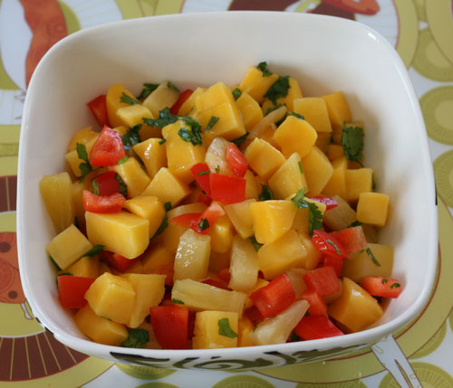Cooking With Kids: Will's Fruity Salsa