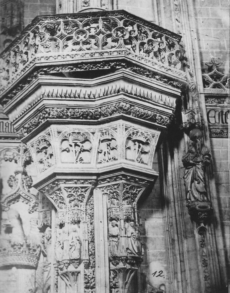 Interior del Monasterio de San Juan de los Reyes en 1857. Fotografía de Charles Clifford