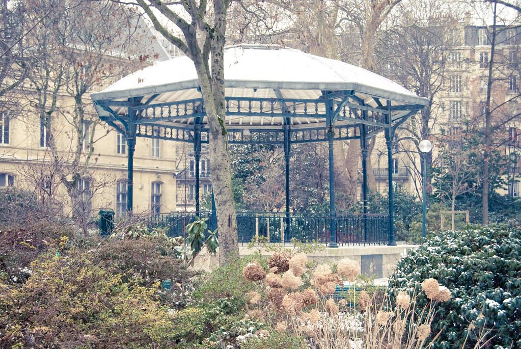 Kiosque à musique du Square Edouard Vaillant