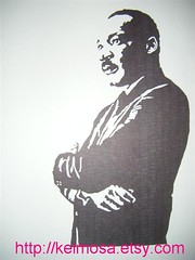 mlk 002 (Large) (Kelmosa) Tags: blackandwhite art history silhouette drawing dream icon hero speaker marker africanamerican leader celebrities sharpie mlk martinlutherking