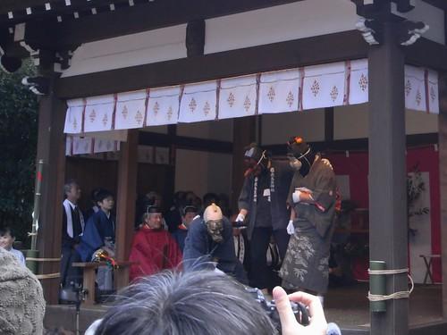 飛鳥坐神社(おんだ祭)@明日香村-10