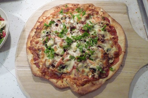 Garlic Lovers' Extravaganza Pizza