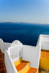 Fanstasic View (Michael Rugosi) Tags: ocean blue color colour beautiful greek santorini greece
