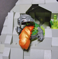BLAAAAACHHHHH! (S.L.Y) Tags: monster rock lego puke