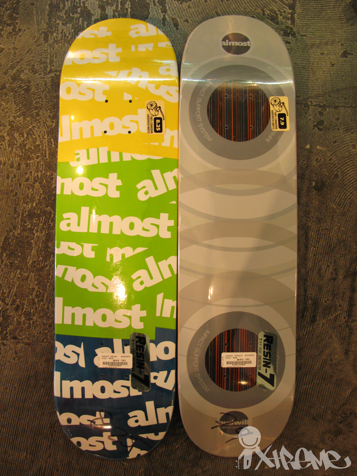 Almost Skateboards Spring 2010 Decks