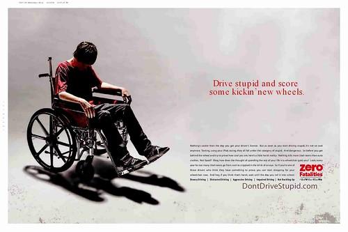DontDriveStupid ad