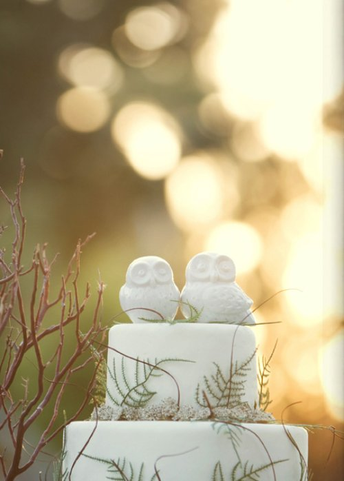 My Owl Barn: Wedding Cake Toppers