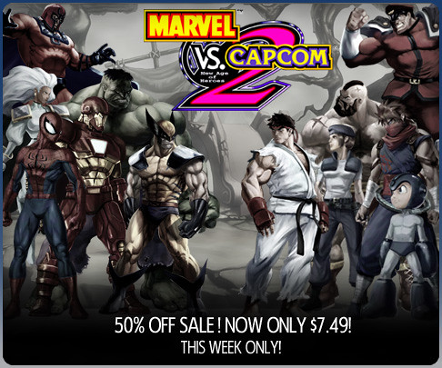 Marvel vs. Capcom 2 Sale