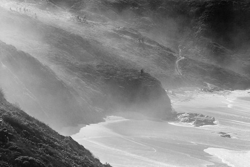 Fog Over Cliffs
