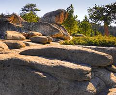 Taft Point Erratics (Paul Gaither Photography) Tags: california travel landscape outdoors hiking boulders yosemite granite yosemitenationalpark sierras sierranevada hdr hdri erratics usnationalparks taftpoint photomatix d80 nikond80 rangeoflight yosemitegranite yosemiteboulders yosemiteerratics