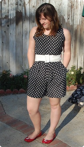 Spotty Playsuit