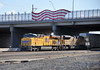 UP GE 7726 and EMD 8573 lead westbound freight train, Tucson Yard, Arizona, January 14, 2010 (Ivan S. Abrams) Tags: railroad up train trains goods unionpacific motive freighttrains railyard railways railroads railyards freighttrain uprr shuntingyard unionpacificrailroad electricnikon d700 onlythebestare ivansabrams trainplanepro countysouthern ivanabrams shuntingyards traingoods trainsarmour yellowharbor graytucspnarizonapima arizonasoutheast arizonaemdgeelectromotive dieselelectro dieselgeneral abramsandmcdanielinternationallawandeconomicdiplomacy ivansabramsarizonaattorney ivansabramsbauniversityofpittsburghjduniversityofpittsburghllmuniversityofarizonainternationallawyer