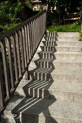 A Shadow (QooL / بنت شمس الدين) Tags: shadow abstract staircase sulawesi qool tanatoraja makassar enrekang ujungpadang torajaland qoolens