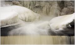 20100207. Kotka. Valgejõgi. 1253. (Tiina Gill (busy)) Tags: winter snow ice nature water river waterfall estonia soe bej abigfave theunforgettablepictures dragondaggerphoto yourwonderland
