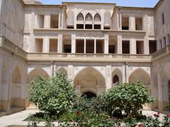 Kashan, Abbasiyyan House (12) (Prof. Mortel) Tags: iran kashan