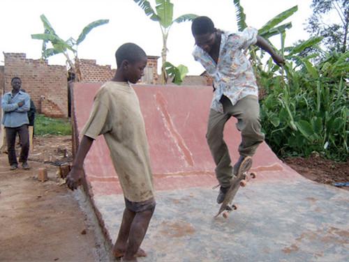 skateboarden oeganda