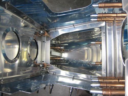 Rudder Stop Bracing Installed