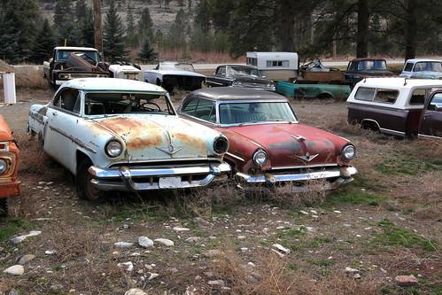 classic cars abandoned