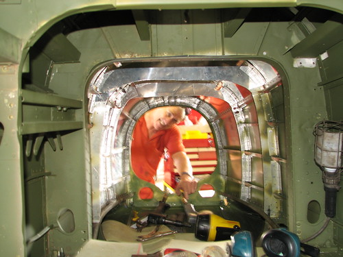 AHSNT B25 Tailcone Under Construction May 2007