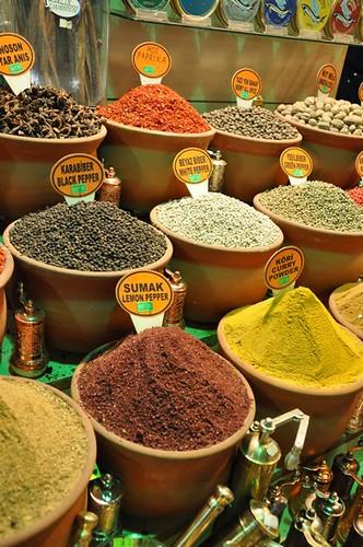 Mısır Çarşısı-baharatlar