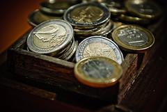My Precious (Markku Heikkilä Photography) Tags: money commerce coins euro business capitalism enterprise trade currency euros finance 010800 financing mercantilism financialinstruments 04000000 04019000 04019001